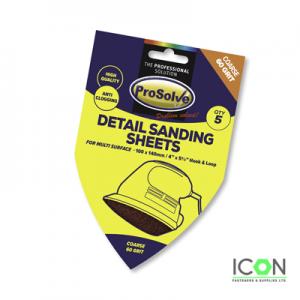 detail sanding sheets