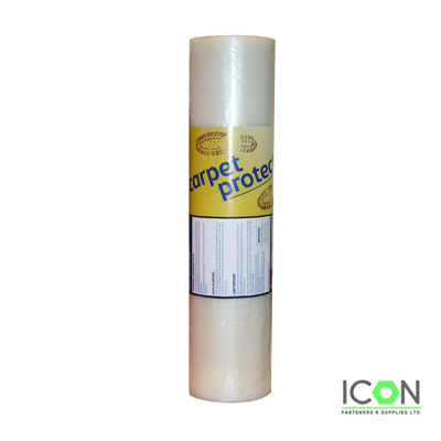 Carpet Protector Film - 60 Microns Thick - icon fasteners
