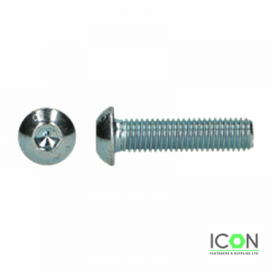 zinc button head