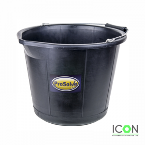 black builder bucket
